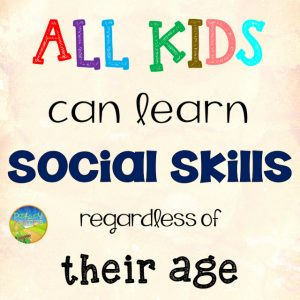 Teaching Social Skills to Middle and High Kids