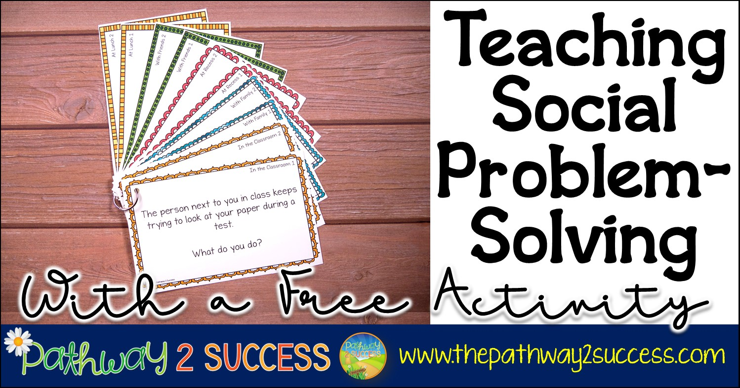 social problem solving activities for kids